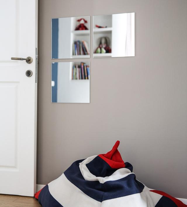 קיר דקורטיבי בחדר ילד