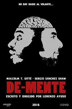 cartel cortometraje de-mente