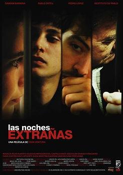cartel largometraje las noches extrañas