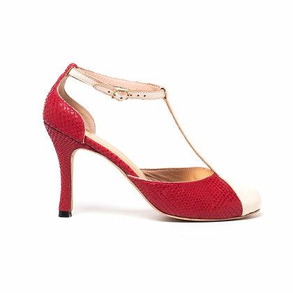 Sapato Salomé Vermelho