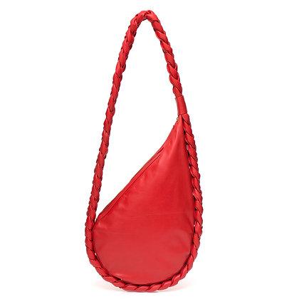 Bolsa Trança Vermelha