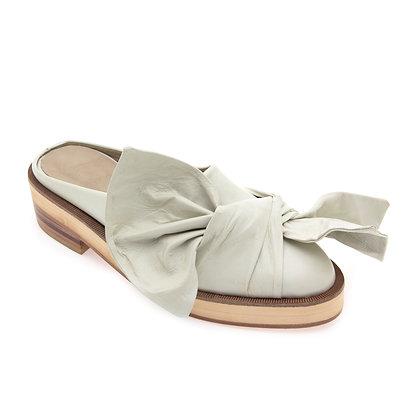 Sapato Mule Laço Offwhite