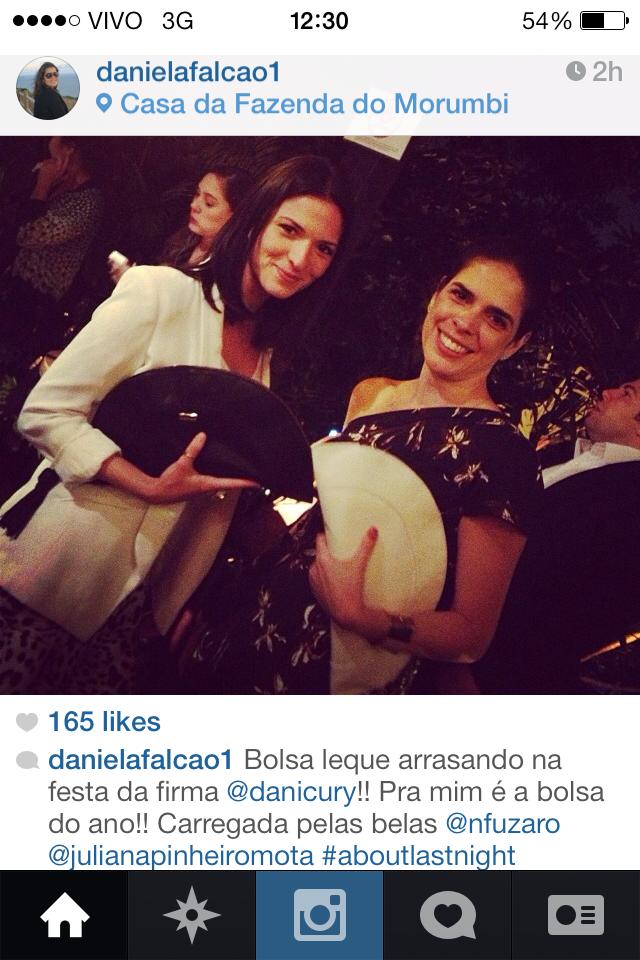 Daniela Falcão - Bolsa Leque