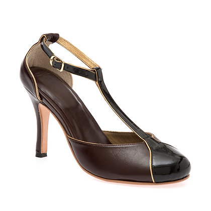 Sapato Salomé Pinhão