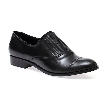 Sapato Sanfona Box Preto