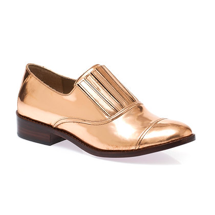 Sapato Sanfona Cobre