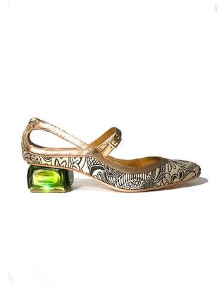 Sapato Sittu Jóia Verde