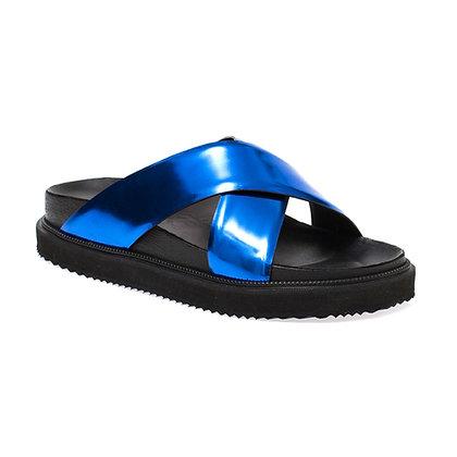 Sandália X Specchio Azul