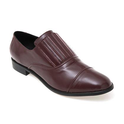 Sapato Sanfona Box Vinho