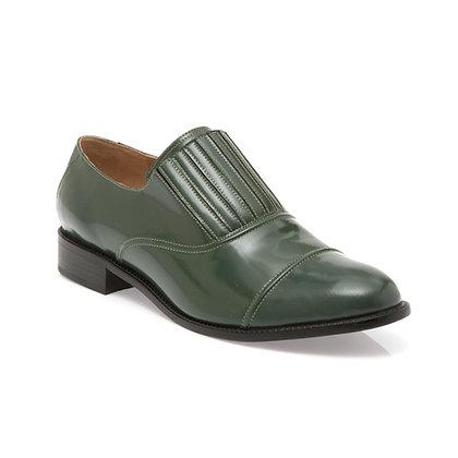Sapato Sanfona Verde