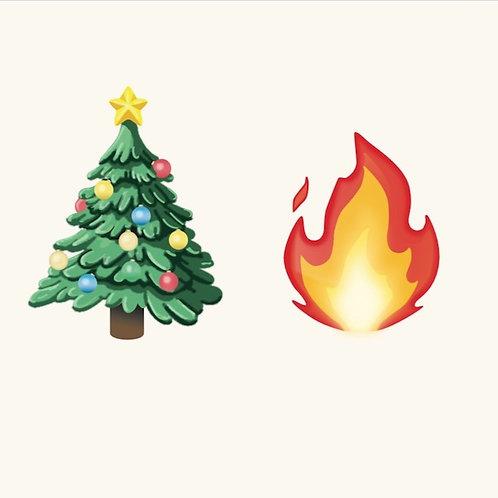 Christmas Fire - David Halliday & Kya Karine