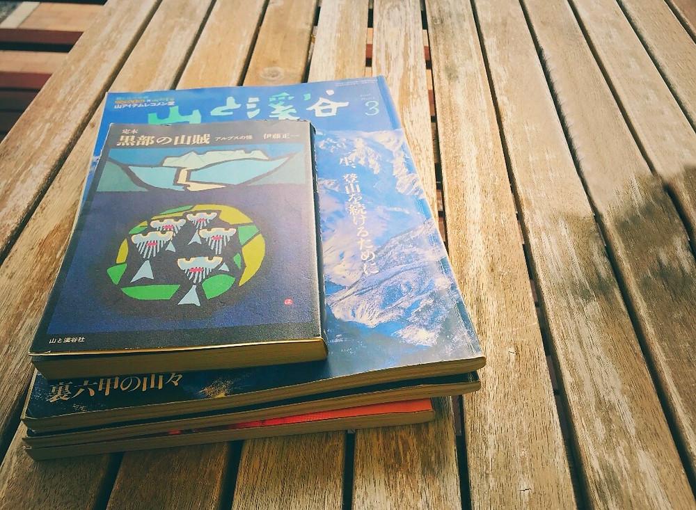 山でリラックス読書  earth trekking