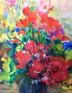 My Red Flower Bouquet