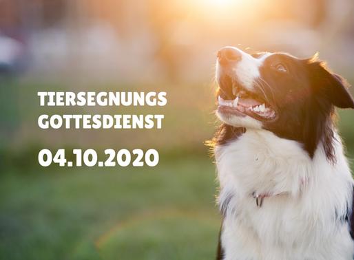 Tiersegnungs-Gottesdienst 04.10.2020