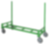 Dragon Wagon with 2 uprights rear positi