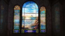 Louis Tiffany Stained Glass Window