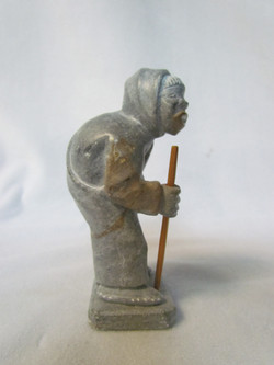 Inuit soapstone steatite sculpture