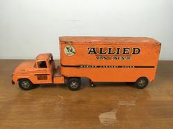 Vintage moving van toy