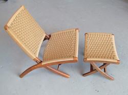 Yugoslavian Wegner style chair