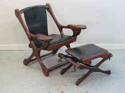 Don Shoemaker Cocobolo Sling chair