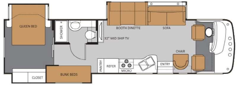 34T Floorplan