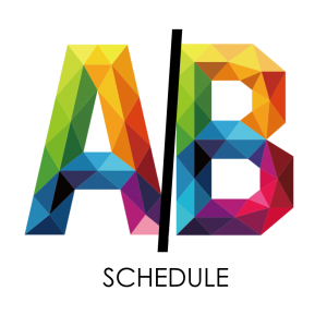 A/B Schedule through January 15th
