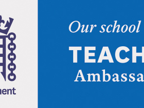 UK Parliament Teacher - Gold Ambassador Award