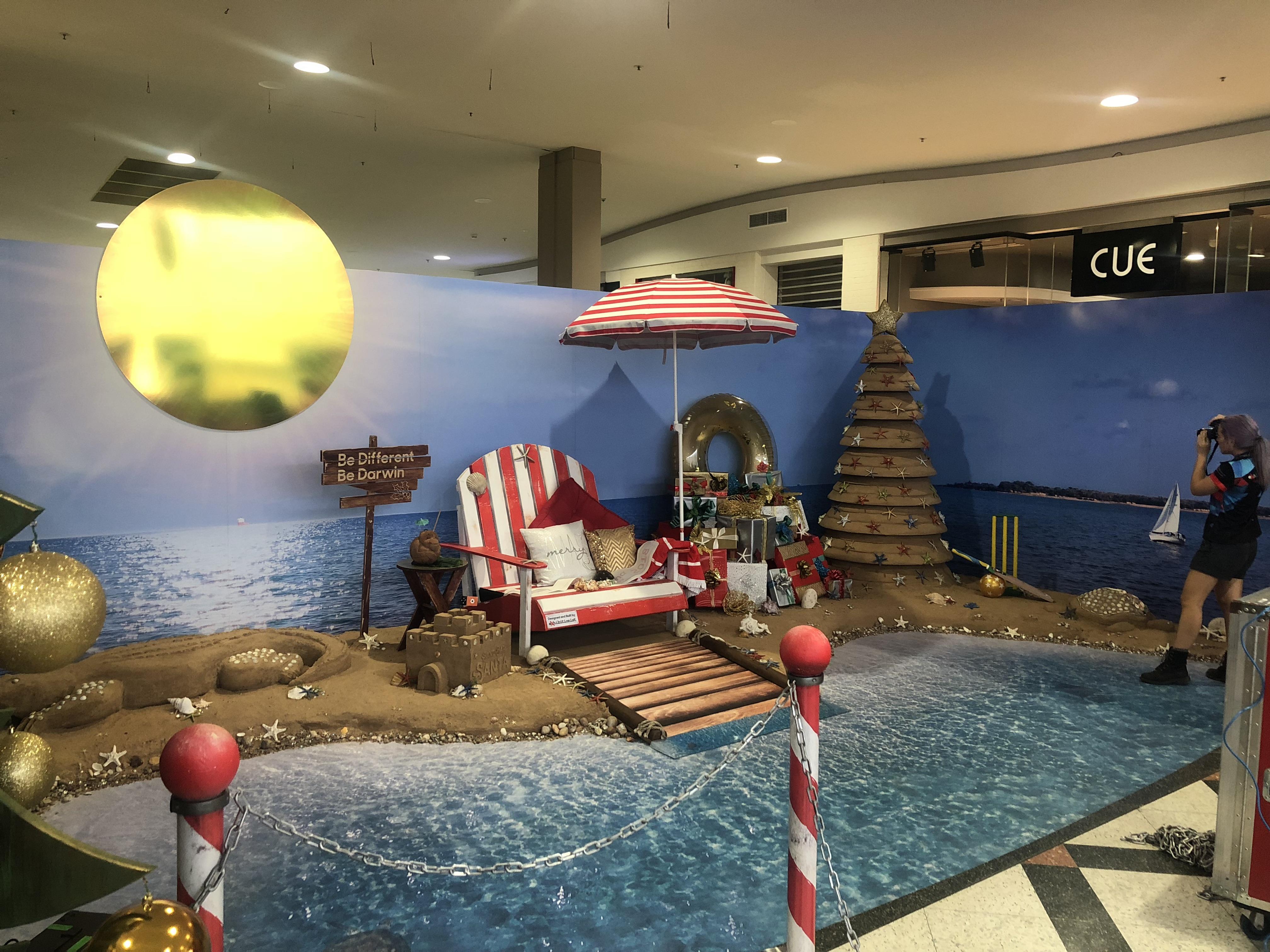 Sandbar Santa Christmas 2019