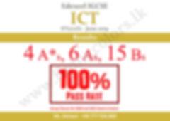 Edexcel ICT O'Level Results