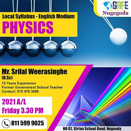 Physics Class post 2 - chirath fonseka.j