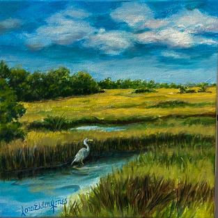 Pawleys Marsh by Laura Elder Jones