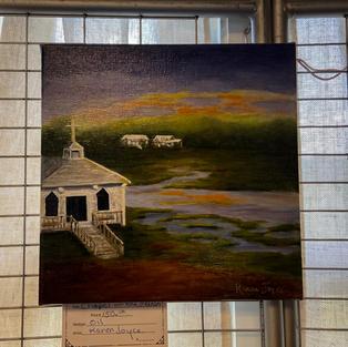 Chapel on the Marsh by Karen Joyce
