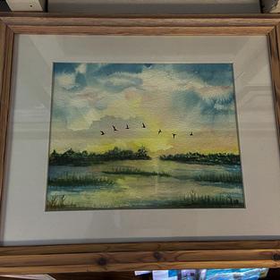 Pawleys Marsh by Nancy Bracken
