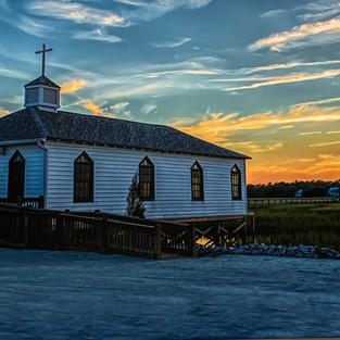 Chapel Sunset by Phillip Duwel