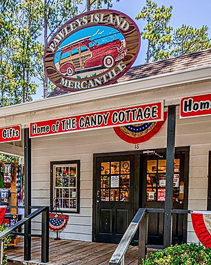 Pawleys Island Mercantile Home of The Candy Cottage