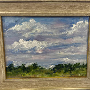 Clouds on the Waccamaw by Kwynn Patrick