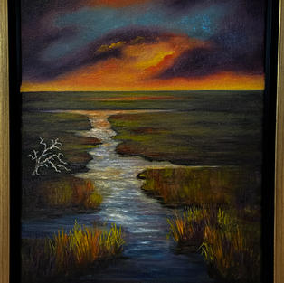 Marsh Aglow by Karen Joyce