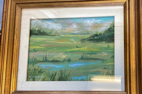 Summer Marsh Scape