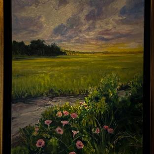 Marsh at Low Tide by Kwynn Patrick