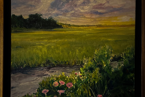 Marsh at Low Tide
