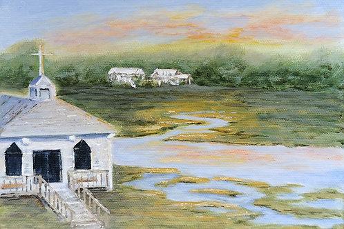 Karen Joyce - Chapel on the Marsh