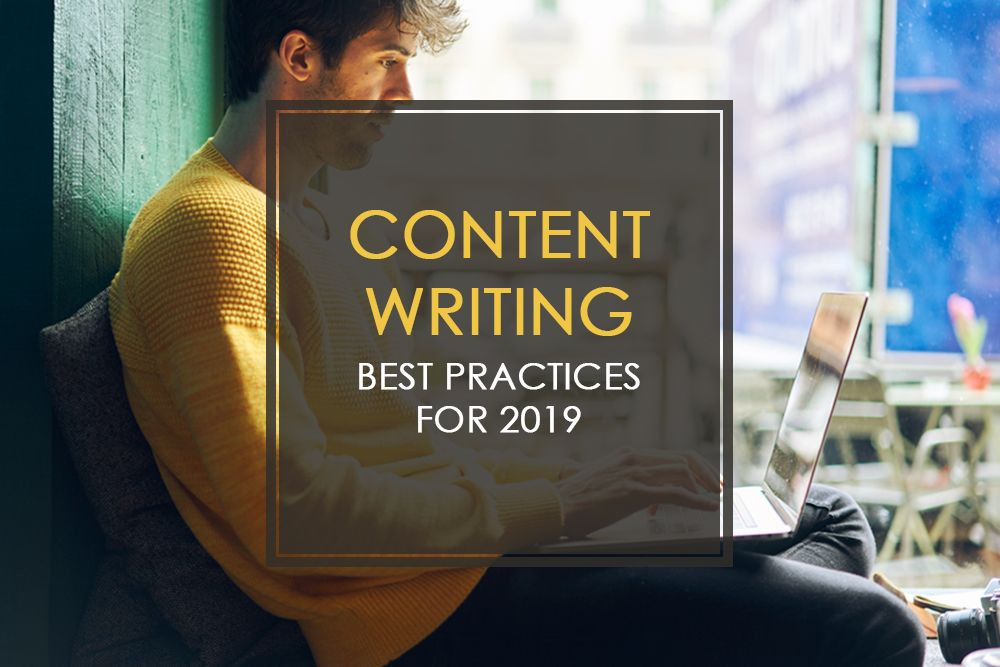2019 Best Practices for Content Writing Services