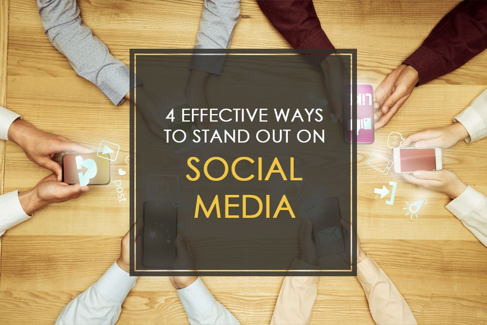 With such a saturated social media landscape, what can you and your social media marketing company do to make your brand stand out? Here are 4 ways.