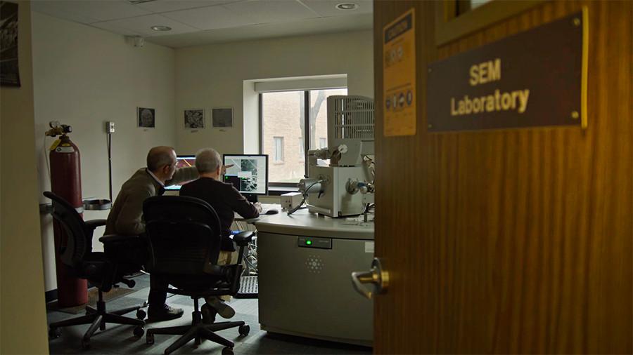 Jean-Bernard Caron & Sharon Lackie at SEM Lab