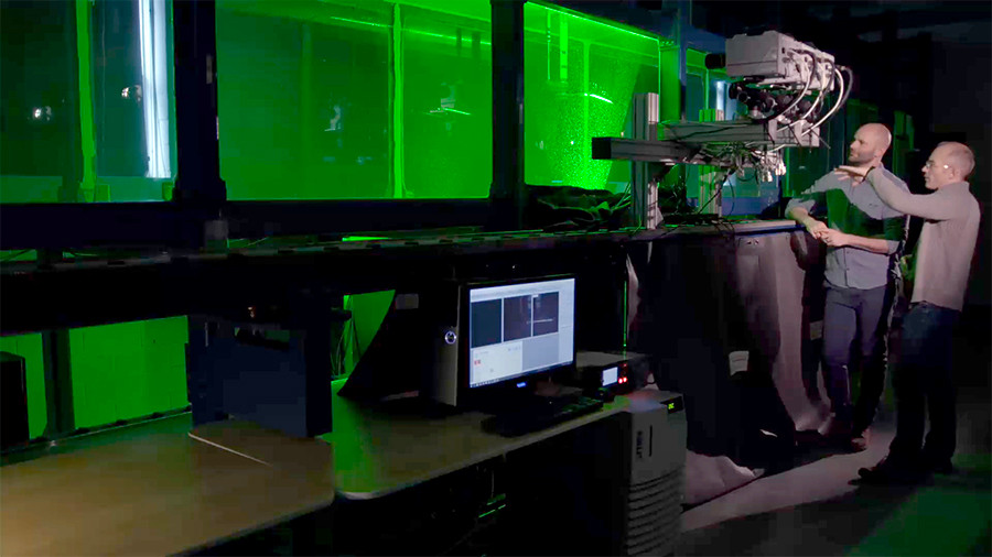 OTTER Lab hydrodynamic tank
