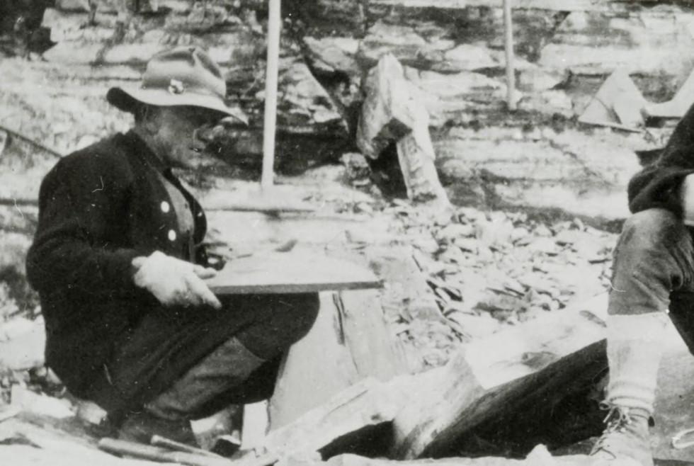 Charles Walcott in 1909
