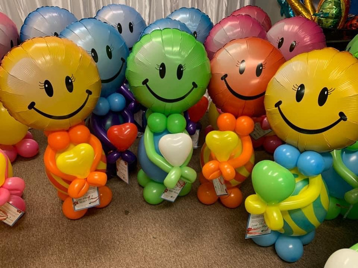 Balloon Buddies come in many different colors!