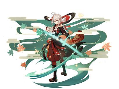 Inazuma na 1.6? Novo vazamento mostra novos boss, personagens e ultimate do Kazuha.