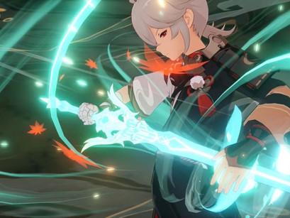 Genshin Impact: Vídeo vazado revela a gameplay completa do Kazuha.