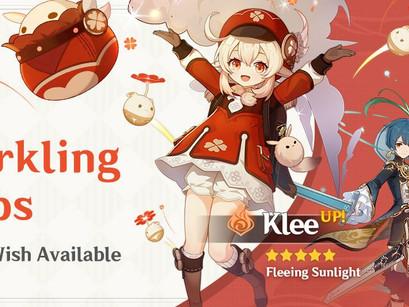 Genshin Impact: Banners da Klee e Kazuha é revelado.